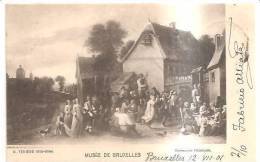 65954)cartolina Illustratoria Belga - Museo Di Bruxelles - Musei