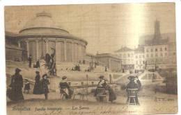 65956)cartolina Illustratoria Belga - Bruxelles , Jardin Botanique - Les Serres - Foreste, Parchi, Giardini