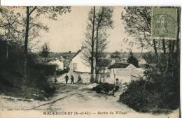 MAURECOURT  -  SORTIE DU VILLAGE - Maurecourt