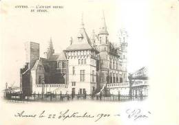 65963)cartolina Illustratoria Belga - Anvers - Monumento - Belgio