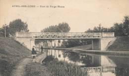 ( CPA 58 )  AVRIL-SUR-LOIRE  /  Pont De Forge-Neuve  - - Ohne Zuordnung