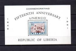 Liberia     1961  .-  Y&T  Nº   20   Block - Liberia
