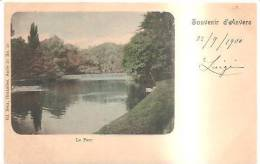 65979)cartolina Illustratoria Belga - Anversa - Il Parco - Belgio