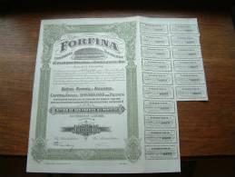 FORFINA Cie FINANCIERE N° 184371 ( Voir Photo Pour Detail )! - Actions & Titres