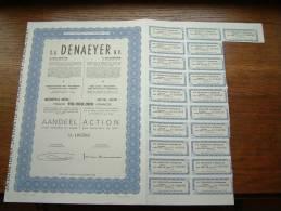 DENAEYER NV Willebroek N° 103590 ( Voir Photo Pour Detail )! - Actions & Titres