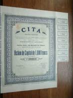 CITA S.A. Anvers N° 00363 ( Voir Photo Pour Detail )! - Actions & Titres