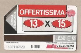 Italia - Scheda Telefonica Usata Da £ 15000/€ 7,75 - Offertissima - Italia