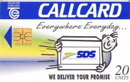 Tarjeta Irlanda SDS - Irlanda