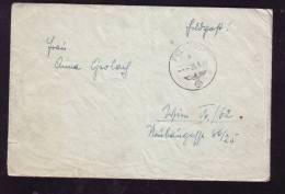 FELDPOST, CENSORED,1944, LETTER, GERMANY - BRD