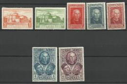 SPAIN..1930..Michel # 530-536...MLH...MiCV - 35 Euro. - 1889-1931 Kingdom: Alphonse XIII