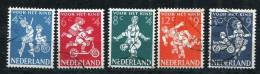Netherlands 1958 Mi 723-7 Used Children's Games Cv 11 Euro - Period 1949-1980 (Juliana)