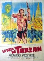 Affiche Cinéma Film Le Défi De Tarzan 120 Cm X 160 Cm Pliée - Affiches