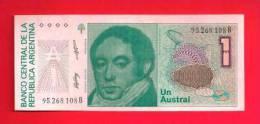 ARGENTINA 1985,   Banknote,  Mint UNC. . 1 Austral  KM Nr. 323 - Argentinië