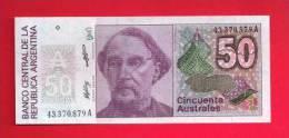 ARGENTINA 1985,   Banknote,  Mint UNC. . 50 Australes,  KM Nr. 326 - Argentinië