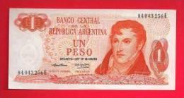 ARGENTINA 1970,   Banknote,  Mint UNC . 1 Peso,  KM Nr. 293 - Argentina