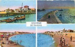 34 - Souvenir De PALAVAS (Ed. Narbo) - Palavas Les Flots