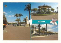 Cp, 20(2B), Bastia, La Place St-Nicolas, Voyagée - Bastia