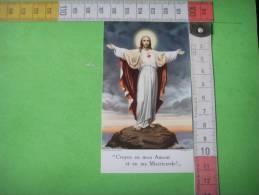 67) Jesus :croyez En Mon Amour ..... - Images Religieuses