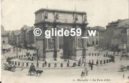 MARSEILLE - La Porte D'Aix (animée) - N° 11 - Monumenti