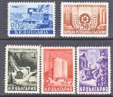 Bulgaria 658-62    * - 1909-45 Kingdom