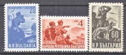 Bulgaria 667-8, C 60     *  FRONTIER  GUARDS - 1909-45 Kingdom