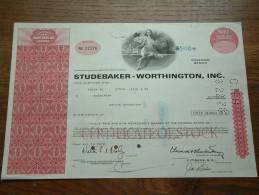 STUDEBAKER WORTHINGTON INC. N° NU 27576 ( Voir Photo Pour Detail )! - Automobile
