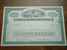 GENERAL MOTORS CORPORATION + Extra Publicity NE 456 - 542 ( Voir Photo Pour Detail )! - Automobile