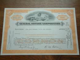 GENERAL MOTORS CORPORATION WP 413 - 015 ( Voir Photo Pour Detail )! - Automobile