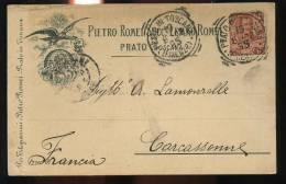Carte Publicité De Prato - Prato