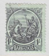 Barbados 164  Wmk 3  1921-24 Issue  (o) - Barbados (...-1966)