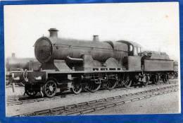 LOCOMOTIVES ANGLAISES ATLANTIC 104  CONSTRUITE A BELFORT 1905 CARTE PHOTO - Eisenbahnen