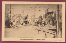 87 - 101012 - ORADOUR SUR GLANE - Place De L'Eglise - - Oradour Sur Glane