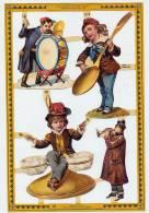 ENFANTS MUSICIENS Tambour Cuillère Sel Salière - Ragazzi