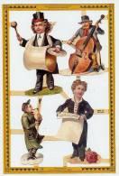 ENFANTS MUSICIENS Tambour Grosse Caisse Bobine Violoncelle - Ragazzi