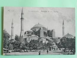 CONSTANTINOPLE - La Mosquée Sainte SOPHIE - Turquie