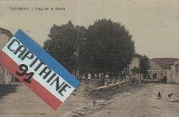 TREVERAY MEUSE PLACE DE LA MAIRIE - France