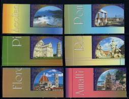 Nations Unies New York ONU 2002 N° 888** A 893** Tiré Du Carnet Prestige Patrimoine Mondial Italie CDF - Non Classés
