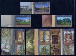 Nations Unies New York ONU 1998 N° 777** A 782** Tiré Du Carnet Prestige Patrimoine Mondial Chateau De Schönbrunn BDF - Non Classés