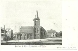 60 Cpa Environ De Meru Andeville Eglise - Meru