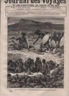 JOURNAL DES VOYAGES 27 04 1879 - ZOULOUS ET CAFRES - DAHOMEY - CHERBOURG - Giornali