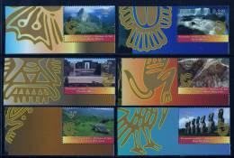Nations Unies Genève ONU 2007 N° 589** A 594** Tiré Du Carnet Prestige Patrimoine Mondial Amérique Du Sud CDF - Office De Genève