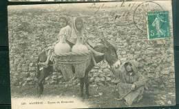 Algérie Type De Nomades ( Fente Sur 3 Mm Bord Du Haut )   - Ud102 - Scènes & Types