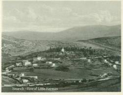 Israel, Nazareth, View Of Little Hermon, Mini Photo Snap Card [11733] - Reproductions
