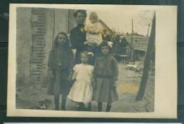 Cpa Photo - Famille à La Campagne - Ud108 - Fotografie
