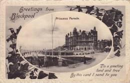 UK - Blackpool (greetings From) - Princess Parade (animation, Rare) - Blackpool