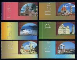 Nations Unies Genève ONU 2002 N° 463** A 468** Tiré Du Carnet Prestige Patrimoine Mondial Italie CDF - Office De Genève