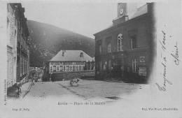 08 REVIN PLACE DE LA MAIRIE 1902 - Revin
