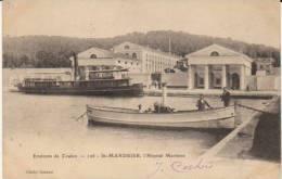 """1902 Toulon Saint Mandrier """"Hôpital Maritime """" Carte Précurseur - Toulon"""