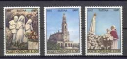 Vatican State 1967 Michel 528-530 MLH - Vatican