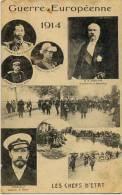 GUERRE EUROPEENNE 1914 - Les Chefs D'Etat - Geschiedenis